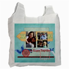 Family By Family   Recycle Bag (two Side)   O6o7czwz6zmf   Www Artscow Com Front