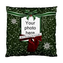 Christmas To Remember Cushion Case (2 Sides) By Lil    Standard Cushion Case (two Sides)   Goor7hdyvaex   Www Artscow Com Front