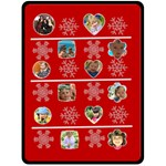 Christmas xmas - Fleece Blanket (Large)