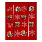 merry christmas - Shower Curtain 60  x 72  (Medium)