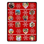 merry christmas - Fleece Blanket (Small)