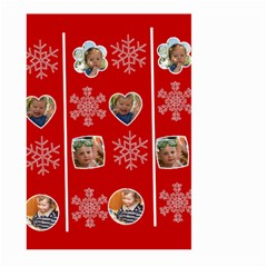 Merry Christmas By Divad Brown   Large Garden Flag (two Sides)   Xpypaqunm7mh   Www Artscow Com Back
