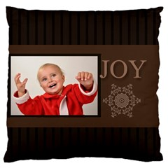 Merry Christmas By Man   Large Cushion Case (two Sides)   Yn7vmzfojl8a   Www Artscow Com Front