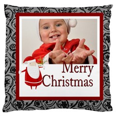 Merry Christmas By Man   Large Cushion Case (two Sides)   Jluwki326xb2   Www Artscow Com Back
