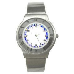 Color Chill Stainless Steel Watch (slim) by Contest1794328