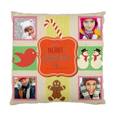 Merry Christamas By Merry Christmas   Standard Cushion Case (two Sides)   91dl4tctig8m   Www Artscow Com Front