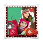 merry christamas - Standard Cushion Case (One Side)