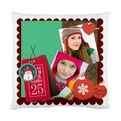 Merry Christamas By Merry Christmas   Standard Cushion Case (two Sides)   V68fu7873aqx   Www Artscow Com Back