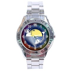 Fishing Dead Stainless Steel Watch by Contest1763580