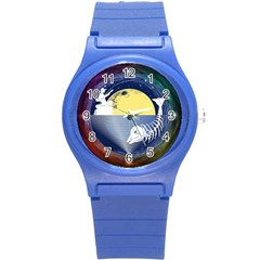 Fishing Dead Plastic Sport Watch (Small) by Contest1763580