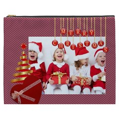 Merry Christmas By Xmas   Cosmetic Bag (xxxl)   F20og5slevhc   Www Artscow Com Front