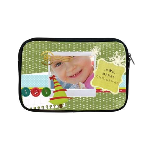 Merry Christmas By Jo Jo   Apple Ipad Mini Zipper Case   Bq2gzc1556km   Www Artscow Com Front