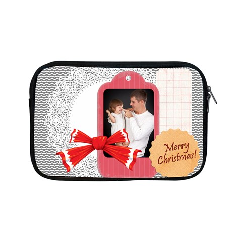 Merry Christmas By Jo Jo   Apple Ipad Mini Zipper Case   6ov9g2t69npp   Www Artscow Com Front