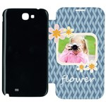 flower kids - Samsung Galaxy Note 2 Flip Cover Case