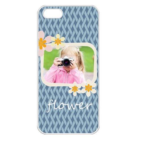 Flower Kids By Joely   Apple Iphone 5 Seamless Case (white)   Vnqw9xcx05gm   Www Artscow Com Front