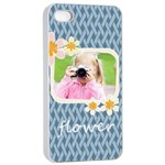 flower kids - Apple iPhone 4/4s Seamless Case (White)