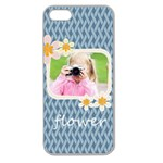 flower kids - Apple Seamless iPhone 5 Case (Clear)