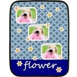 flower - Fleece Blanket (Mini)
