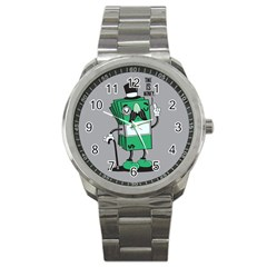 Don t Waste Your Time    Sport Metal Watch by Contest1771648