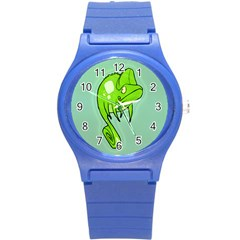 Lucky Lizard Plastic Sport Watch (small) by Contest1780262