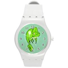 Lucky Lizard Plastic Sport Watch (medium) by Contest1780262