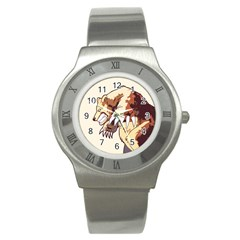 Bear Time Stainless Steel Watch (slim) by Contest1780262