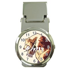 Bear Time Money Clip with Watch by Contest1780262