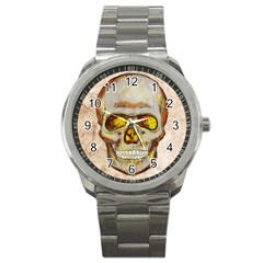 Warm Skull Sport Metal Watch by Contest1775858