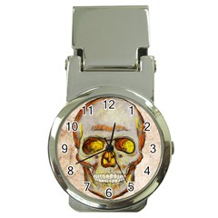 Warm Skull Money Clip With Watch by Contest1775858
