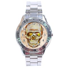 Warm Skull Stainless Steel Watch by Contest1775858