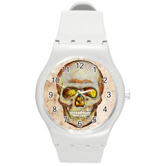 Warm Skull Plastic Sport Watch (medium) by Contest1775858