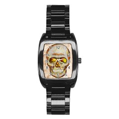 Warm Skull Stainless Steel Barrel Watch by Contest1775858