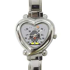 Time Bomb Heart Italian Charm Watch  by Contest1771648