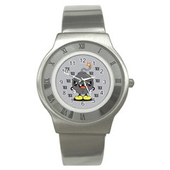 Time Bomb Stainless Steel Watch (slim) by Contest1771648