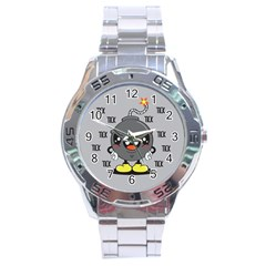Time Bomb Stainless Steel Watch by Contest1771648