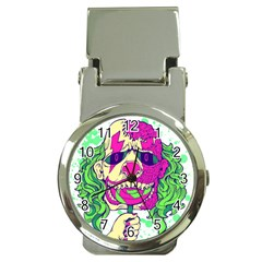 Bozo Zombie Money Clip With Watch by Contest1731890