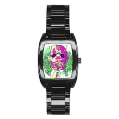 Bozo Zombie Stainless Steel Barrel Watch by Contest1731890