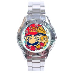 Mario Zombie Stainless Steel Watch by Contest1731890