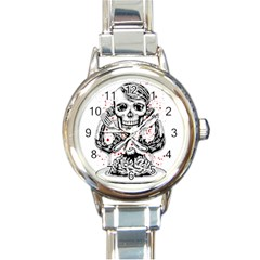 Delicious Round Italian Charm Watch by Contest1731890