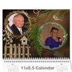Grandkids calendar - Wall Calendar 11  x 8.5  (12-Months)