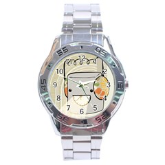 Happy Beam Stainless Steel Watch by RachelIsaacs