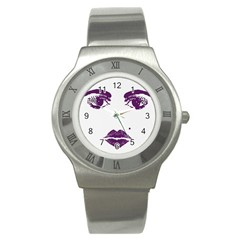 Beauty Time Stainless Steel Watch (Slim) by Contest1704350