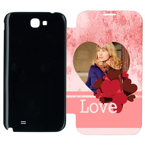 Lov By Anita   Samsung Galaxy Note 2 Flip Cover Case   K5d17hvw3h7i   Www Artscow Com Front