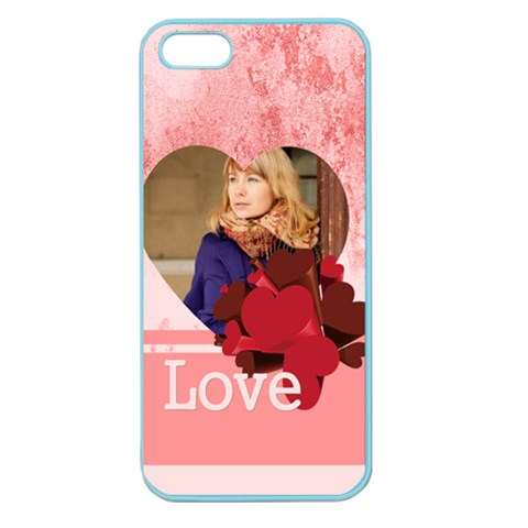 Love By Anita   Apple Seamless Iphone 5 Case (color)   90ohu43b2azz   Www Artscow Com Front