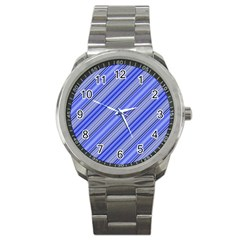 Lines Sport Metal Watch by Siebenhuehner