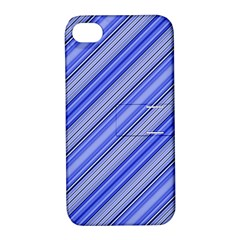 Lines Apple Iphone 4/4s Hardshell Case With Stand by Siebenhuehner
