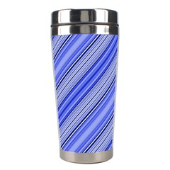 Lines Stainless Steel Travel Tumbler by Siebenhuehner