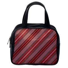 Lines Classic Handbag (one Side) by Siebenhuehner