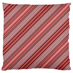 Lines Large Cushion Case (two Sided)  by Siebenhuehner
