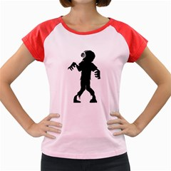 Zombie Boogie Women s Cap Sleeve T Shirt (colored) by willagher